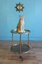 French round drinks trolley - SOLD
